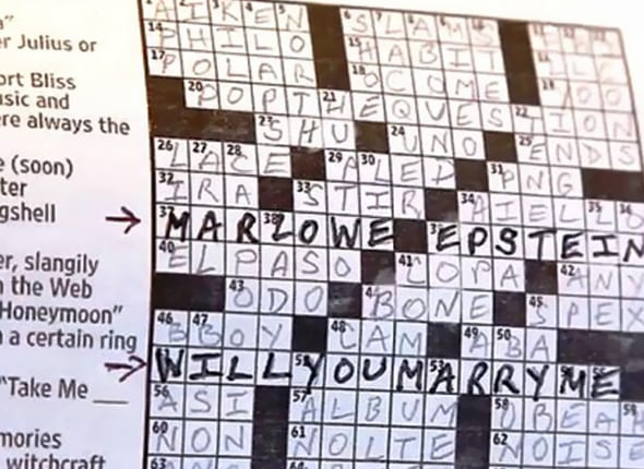 The Crossword Puzzle Proposal