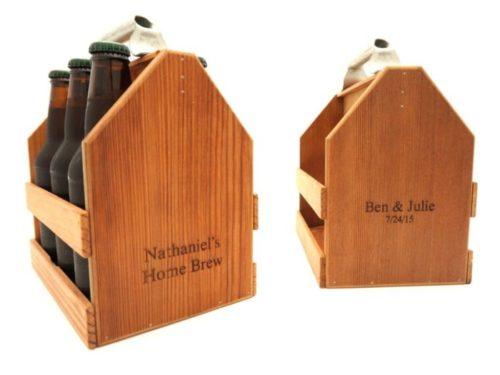 wood six pack