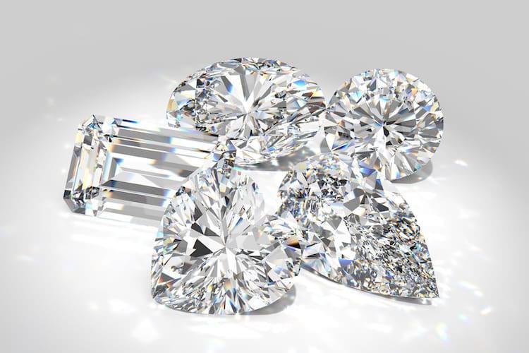 Photo of diamond scintillation by DiamondGalaxy / Shutterstock.