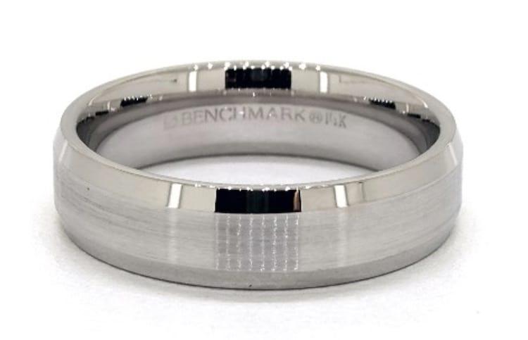 Beveled Ring for Men