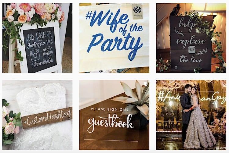 Best Wedding Hashtags: Funny, Romantic, Creative Ideas | The Plunge