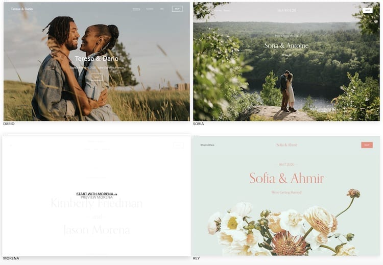 Squarespace Wedding Websites Best Designs And Tips The Plunge