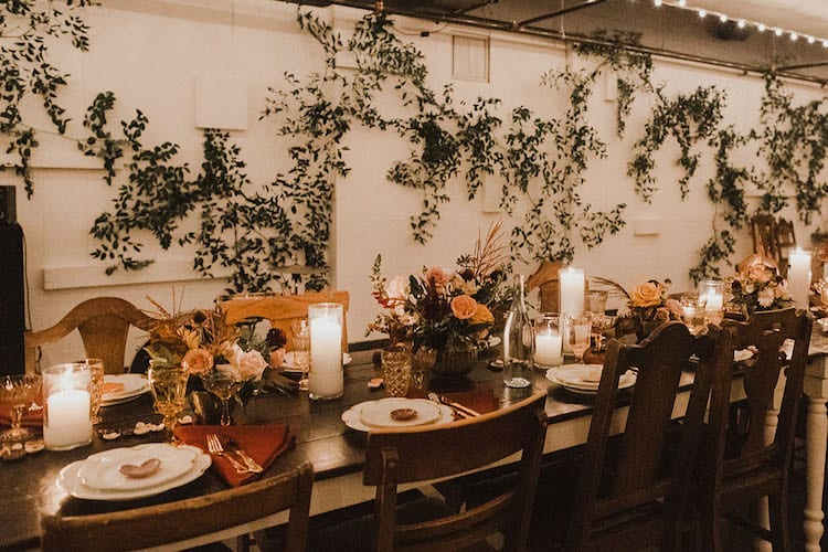 Rustic wedding theme decor reception