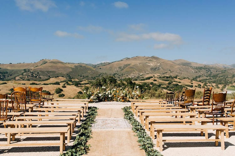 Garden outdoor wedding theme decor ceremony