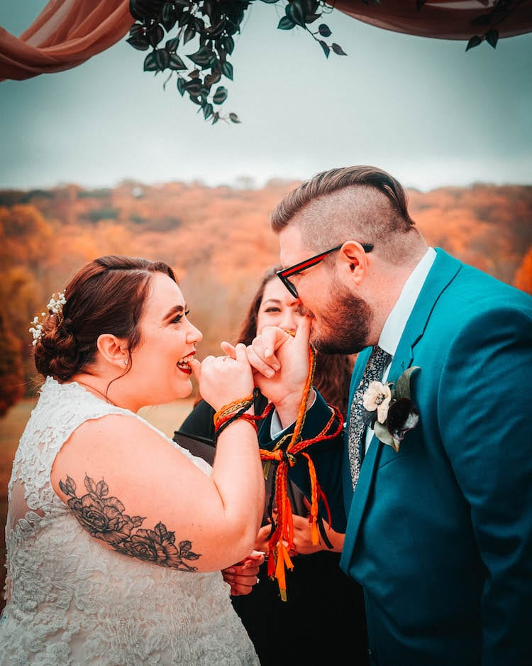 Wedding ceremony by Topher Sean Photography