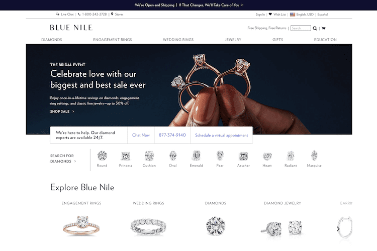 Blue Nile Review: Best Site for Classic Diamond Rings | The Plunge